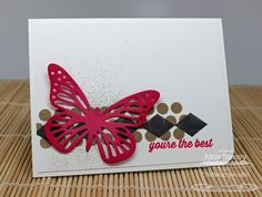Sending Thanks; Large Scale Backgrounds; Fancy Butterflies Die-namics - Amy Rysavy
