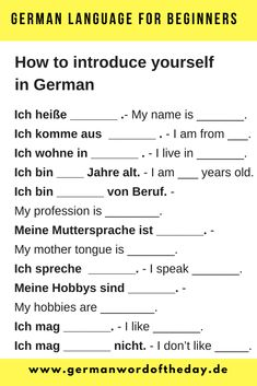 Fine Basic German Grammar Exercises Pdf that you must know, Youre in good company if you?re looking for Basic German Grammar Exercises Pdf Study German, German English, Basic German, German Grammar, German Words, German Resources, Deutsch Language, Germany Language, Learn Another Language