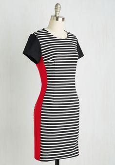 Prepare and Contrast Dress