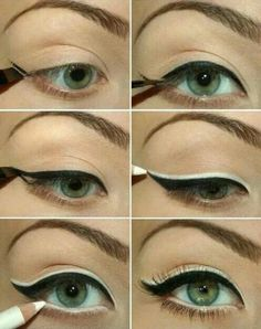 Good makeup to do for green eyes! I want to try this out soon! :)