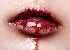 """""""Halloween Lips"""" — Photographer: Caroline Zenker Makeup: Alex Merk"""