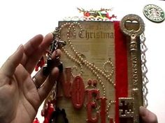A Christmas Mini Album for ??? & Items I have added to the 25 Days of Christmas Kit :) - YouTube