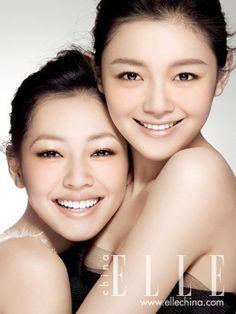 Barbie Hsu and Dee Hsu in Elle China April 2010