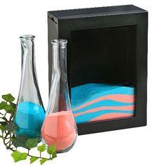 Cerimonia di nozze in vetro Unità di sabbia Vaso Set Bomboniere Per  Matrimoni In Spiaggia c71a829dec4