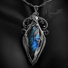 EZTHYARIN - Silver and Labradorite by LUNARIEEN.deviantart.com on @DeviantArt