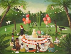 'Miss Moon Was A Dog Governess. Lesson Twenty: Celebrate Your Accomplishments With Family And Good Friends' By Janet Hill 2014