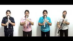 Johann Pachelbel - Canon / Kanon - for 4 recorders (AAAB) - by Orlan Charles Johann Pachelbel, Pachelbel's Canon, Bass, Youtube, Instruments, Beautiful, Flute, Musica, Youtubers