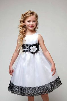 Shop Sexy Trending Dresses – Chic Me offers the best women's fashion Dresses deals Baby Dress Design, Frock Design, Dresses Kids Girl, Kids Outfits, Flower Girl Dresses, Flower Girls, Kids Blouse Designs, Baby Frocks Designs, Casual Dresses