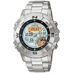 2c61dd27099c Compra Reloj Casio Outgear AMW704D-7AV Horas De Caza   Termometro   Fase  Lunar - Plateado online