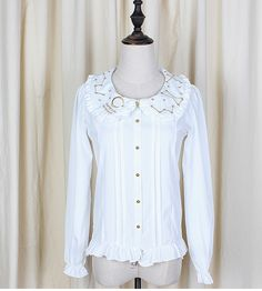 Cheap blouses girls, Buy Quality blouse fabric directly from China shirt silk screen machine Suppliers:          New Fashion Women Summer Sweet Chiffon Lolita Blouses Short Sleeve White Cute Shirt for Girl Camisa Mujer