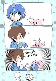 Super Smash Bros. Megaman & Kirby