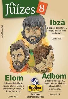 Juízes Ibzã, Elom e Adbom