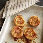 Zomerse perziken uit de oven