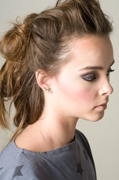 Hey, I found this really awesome Etsy listing at https://www.etsy.com/listing/213024347/stars-ear-cuff-earring-ear-sweep-14k