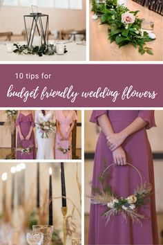 Should you hire a professional florist or DIY your wedding flowers? When planning your big day, here's how you can choose budget friendly wedding flowers. Affordable Wedding Flowers, Diy Your Wedding, Bridesmaid Dresses, Wedding Dresses, Floral Designs, Table Decorations, Tips, Beautiful, Bridesmade Dresses