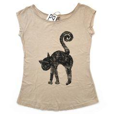 gattosa t-shirt handmade www.gattosi.com