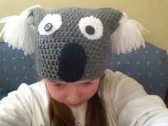 I made a koala hat