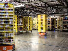 Casaforte Blog : 15 mila robot «assunti» nei centri di smistamento ...