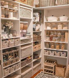 Kitchen Organization Pantry, Kitchen Storage, Pantry Ideas, Ikea Pantry, Kitchen Pantry Design, Diy Kitchen, Kitchen Ideas, Kitchen Things, Kitchen Decor