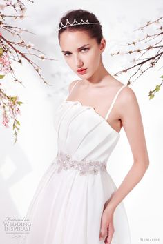 http://weddinginspirasi.com/2011/02/07/blumarine-spring-summer-2011-bridal-collection/  Blumarine Spring 2011 wedding dresses  #weddings #weddingdress #bridal #gown #wedding