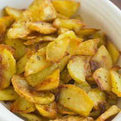 My grandma's famous, simple Roasted Potatoes.