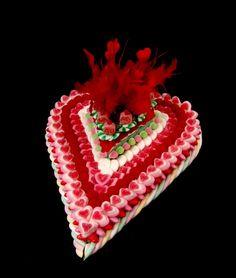 cœur en bonbons