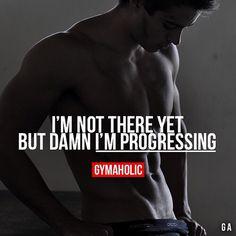 I'm progressing!