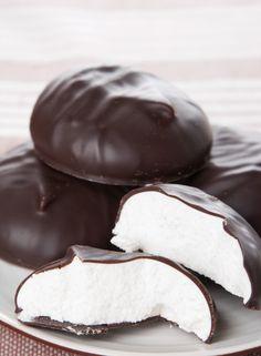 Meringue chocolade stock klaargemaakt in een stoomoven - Culy.nl !