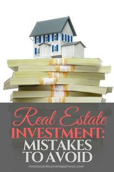 Watch out for these real estate investment mistakes. I've made all of them and I'm sharing my experience so you don't have to. If you're getting started with real estate investing, make sure you check out this post. Real Estate Career, Real Estate Business, Real Estate Investor, Selling Real Estate, Real Estate Tips, Real Estate Marketing, Investment Advice, Investment Firms, Investment Property