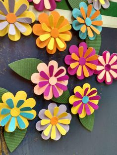 Paper Die Cuts,Paper Flowers,Flower Die Cuts,Flower Cutouts,Paper Cutouts is part of Paper flowers diy - Easy Paper Flowers, Diy Flowers, Scrapbook Paper Flowers, Paper Sunflowers, Origami Flowers, Diy Paper, Paper Crafts, Paper Art, Diy And Crafts