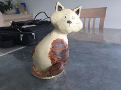 Chat en argile