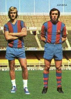 NEESKENS - ASENSI (F.C. Barcelona - 1975-76)