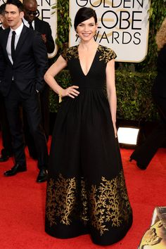 Julianna Margulies in Andrew Gn - Golden Globes Red Carpet 2014