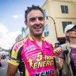 Paco Mancebo (Kenda-5 Hour Energy) was all smiles after stage 6 victory - Tour of Utah 2013