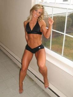 Brittany Beede fit women #fitness #women #hardbodies of course her name is Brittany LOL