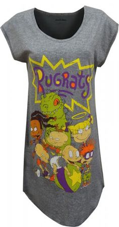 d048e6ed12 Nickelodeon Rugrats Cool Since the 90 s Nightshirt
