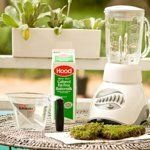 Water, buttermilk, moss and a blender is all you need to get started.