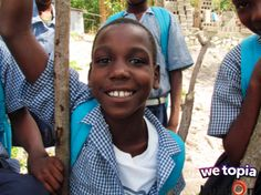 We're almost there! Keep giving Joy in WeTopia to help build a school for Wilson (age 12) and his friends in Flamands!