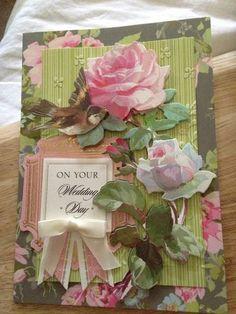 Anna Griffin handmade card