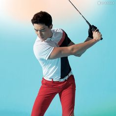 Hello handsome <3 <3 <3 #Golf #Supermodel #DanielHenney #Clothes Credit: Wide Angle on Facebook <3