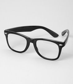 Nerd glasses are a must have for me!! I have been wanting these for months but refuse to by them seeing as in I have lost 3 pairs of classes in 2014' lol