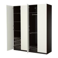Schrank ikea schwarz  ikea pax wardrobe hallway | Interior&Exterior | Pinterest | Ikea ...