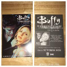 Buffy the Vampire Slayer - Soundtrack Promo Card. #btvscollector #btvs #buffy #buffythevampireslayer
