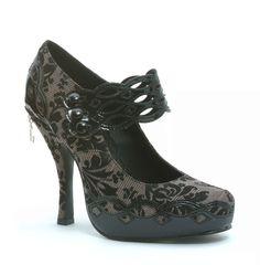 Garbo's Mary Jane heels