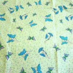 Fairies and Butterflies cotton fabric