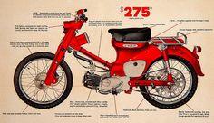 1963 Honda C105/CA105 Trail Cub