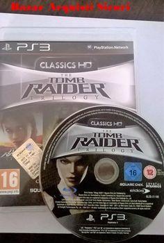 VIDEOGIOCO PS3 TOMB RAIDER TRILOGY