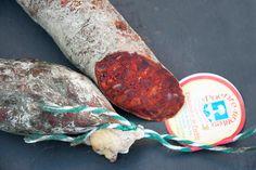 Chorizo Cular Extra. www.puenterobles.com