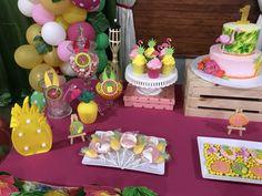 Flamingo Birthday 🍍 ShowerBox Events 2017 Like us on FB👍 Boxing Events, Pool Party Favors, Flamingo Birthday, Birthdays, Shower, Luau Party, Fiesta Decorations, Hawaiian Luau, Tropical Party