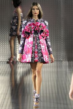 La robe bouquet Mary Katrantzou